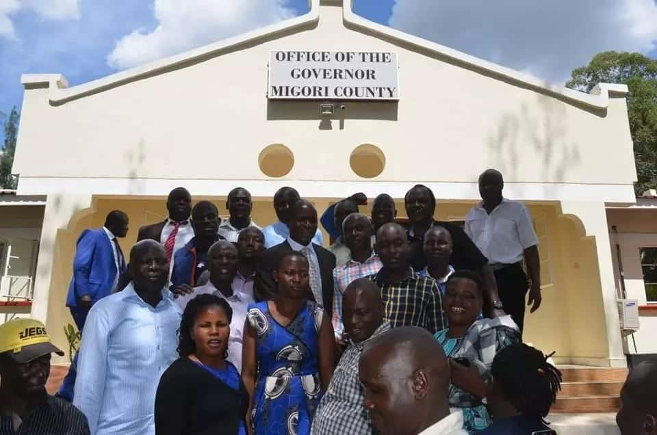 Embattled Migori governor returns to office after more than X days in remand