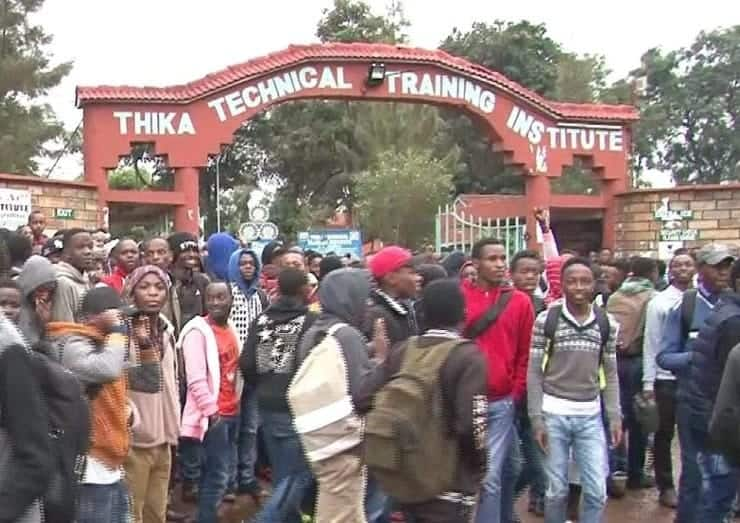 Thika technical training institute courses