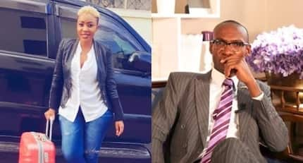 Dr Ofweneke's ex-wife Nicah The Queen confirms she can never get back with comedian