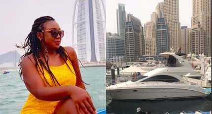 Sultry TV personality Betty Kyallo treats herself to swanky holiday in Dubai days after quitting her job