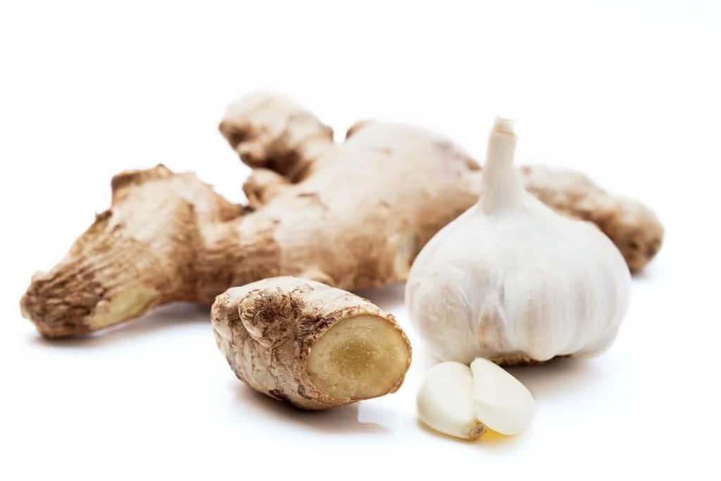 Garlic ginger health benefits