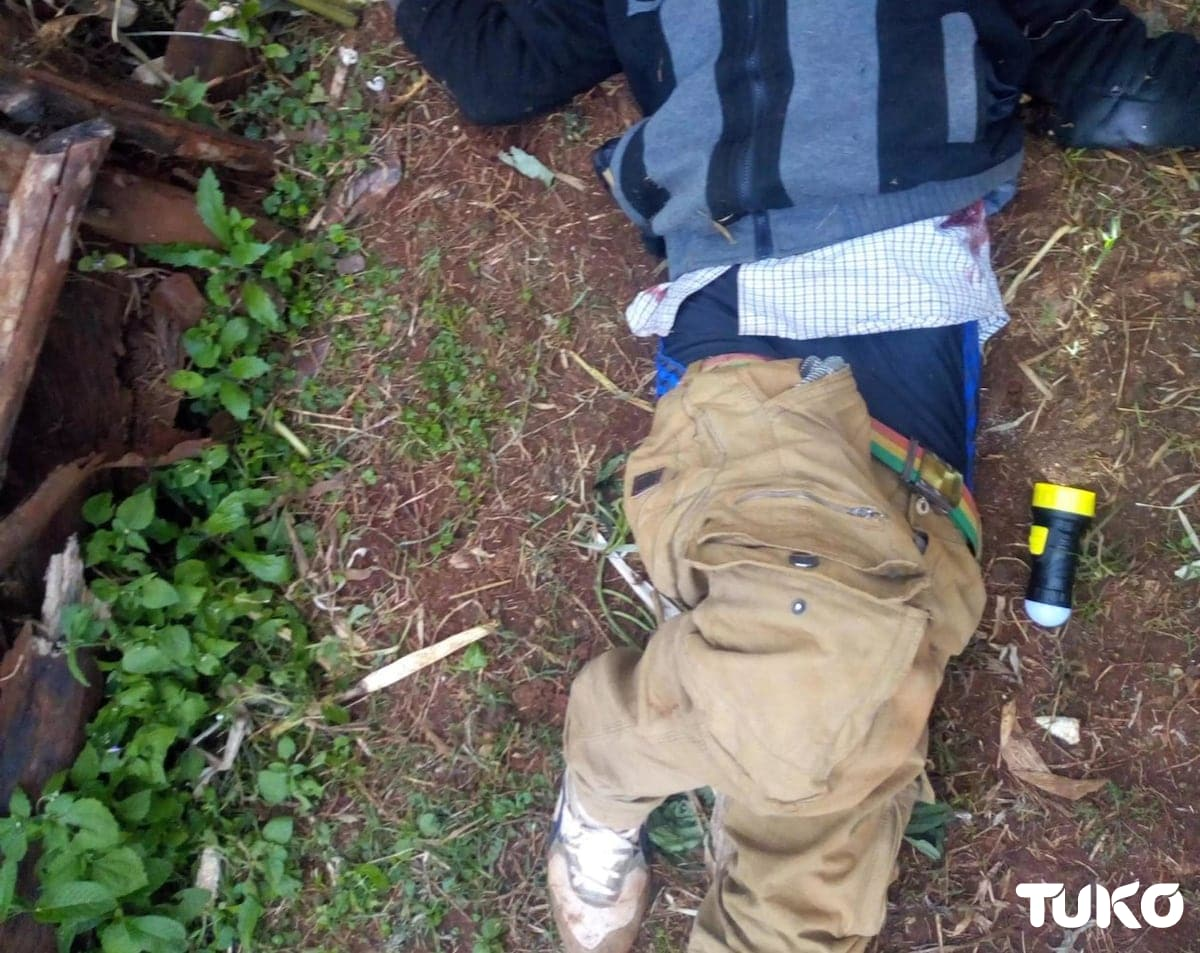 Police shoot dead kidnappers including a lady in Murang'a, rescue female hostage