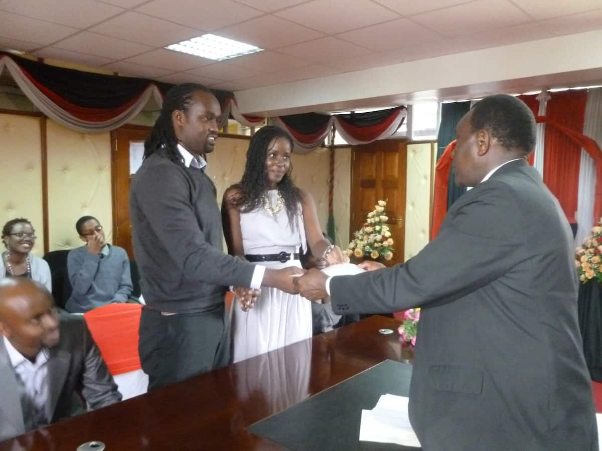 Sheria House marriage registration process