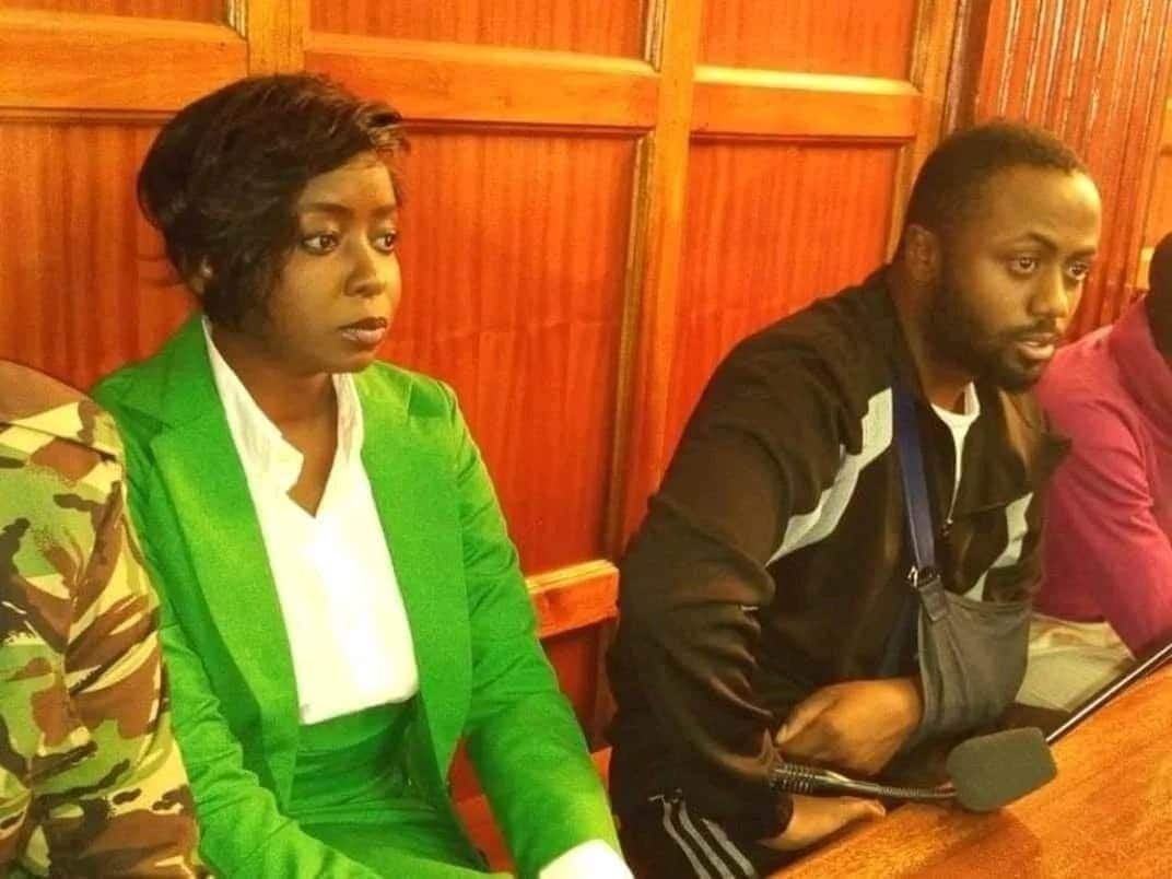 Embattled TV anchor Jacque Maribe appears in court looking all spruced up and composed