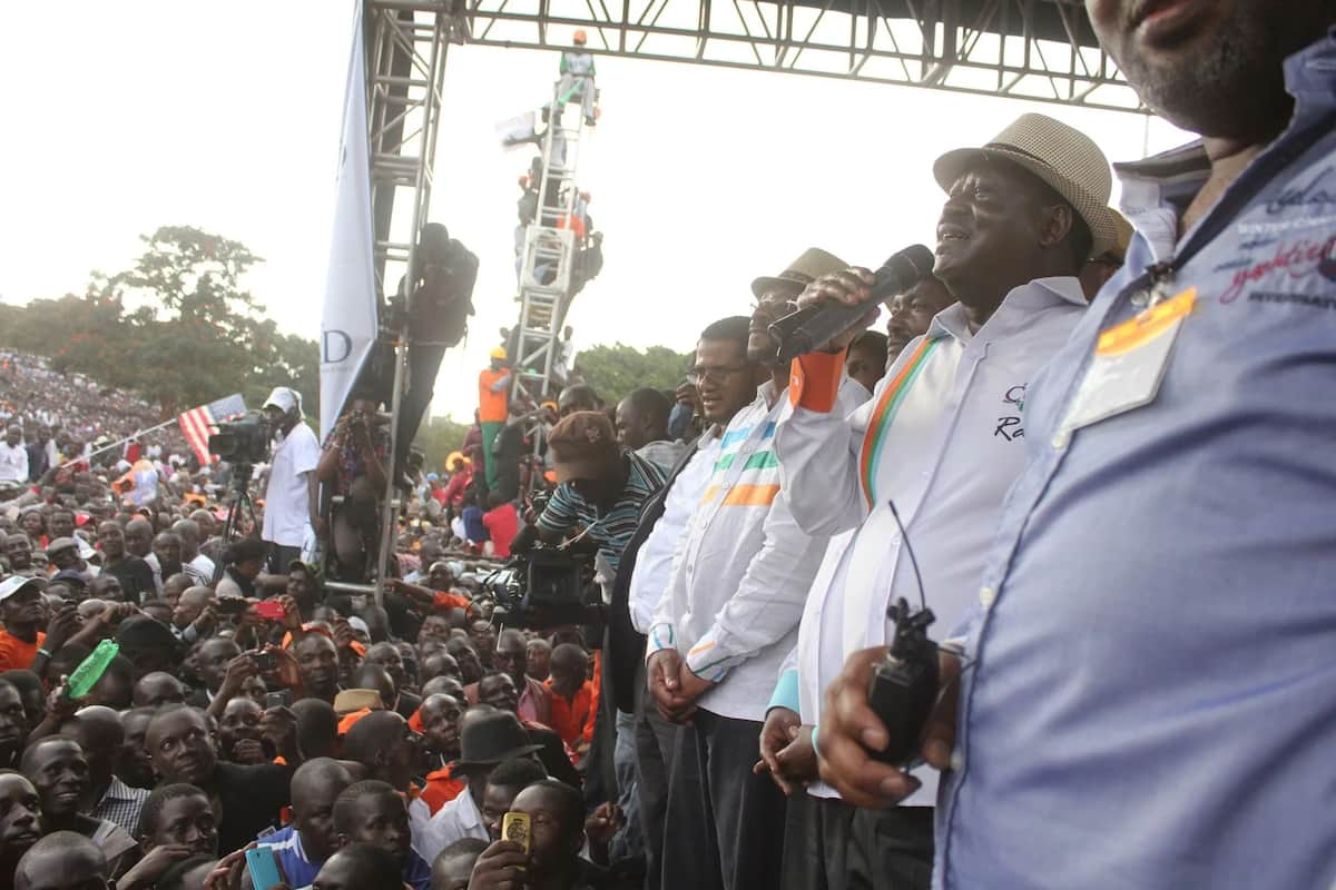 Uhuru park is from today Raila Odinga park- Orengo