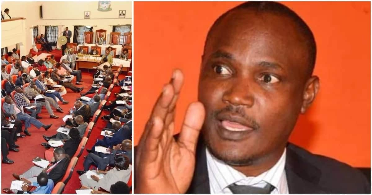 Orange Democratic Movement party Chairman John Mbadi suggested the party should review its Constitution to weed out illiterate Members of the County Assemblies. Photo: TUKO.