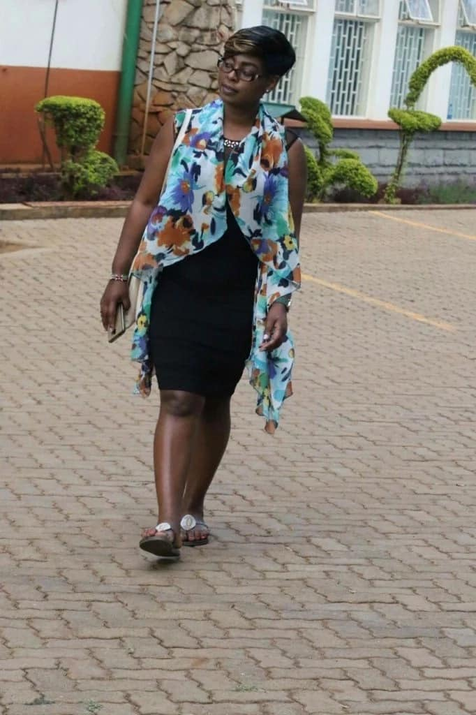 See Through Tight Dress Gets Nyeri Mca Kicked Out Of