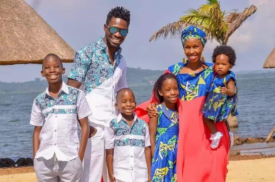 Ingawa anaendelea kutibiwa, Bobi Wine amtakia mke wake 'Happy Birthday'