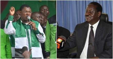 Wetangula ashambuliwa kwa kudai Raila ndiye kiongozi wa upinzani