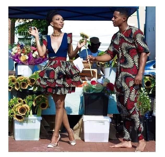 c1477edbff Best African KITENGE Designs for Couples ▷ Tuko.co.ke