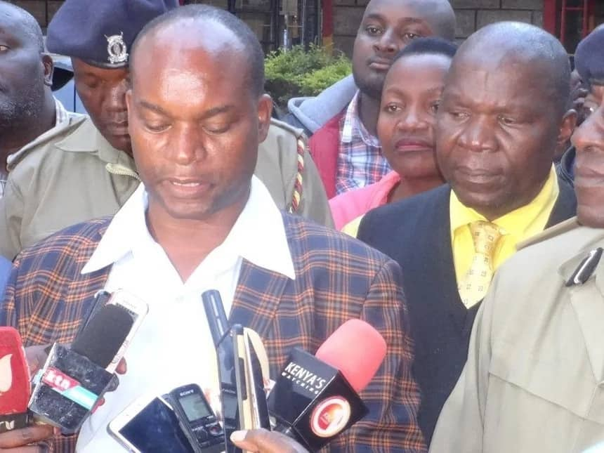 Prison warder arrested in connection with Kirinyaga deputy governor viral video with woman