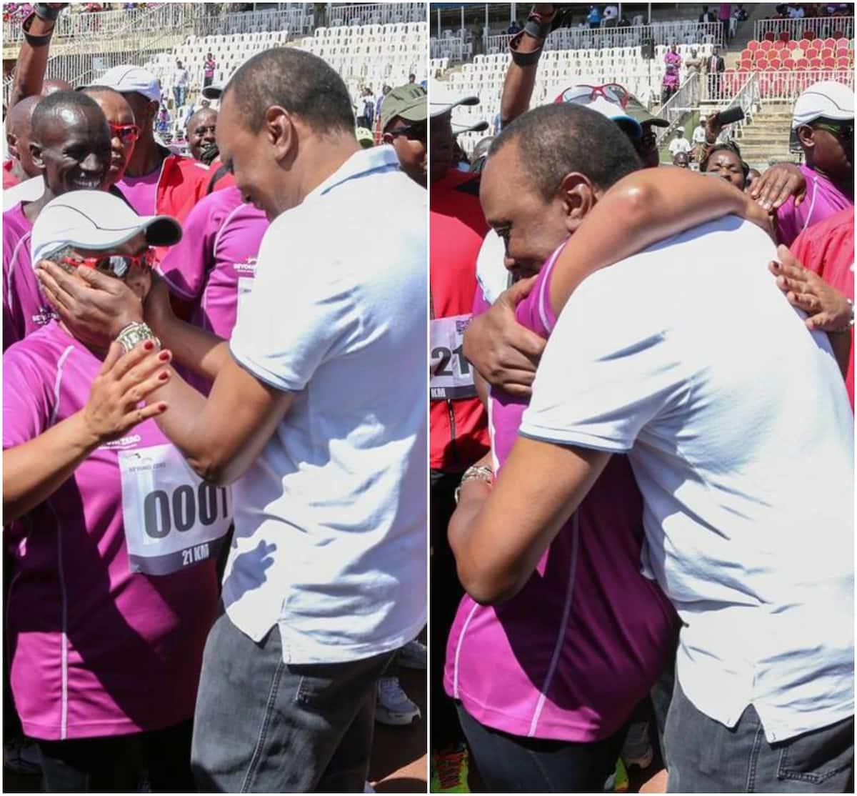 Kati ya Uhuru na Ruto nani humkumbatia mkewe vizuri kumliko mwingine?