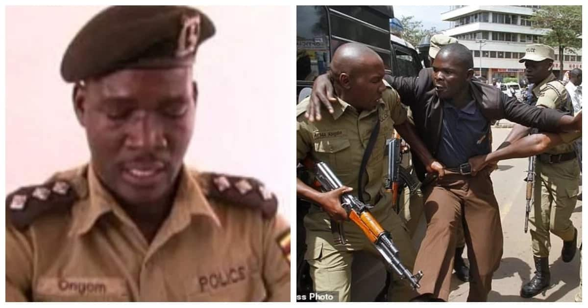 Ugandan police arrest 34 mourners for attending burial of a notorious criminal