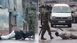 Angry GSU officers SAVAGELY beat NTV journalist