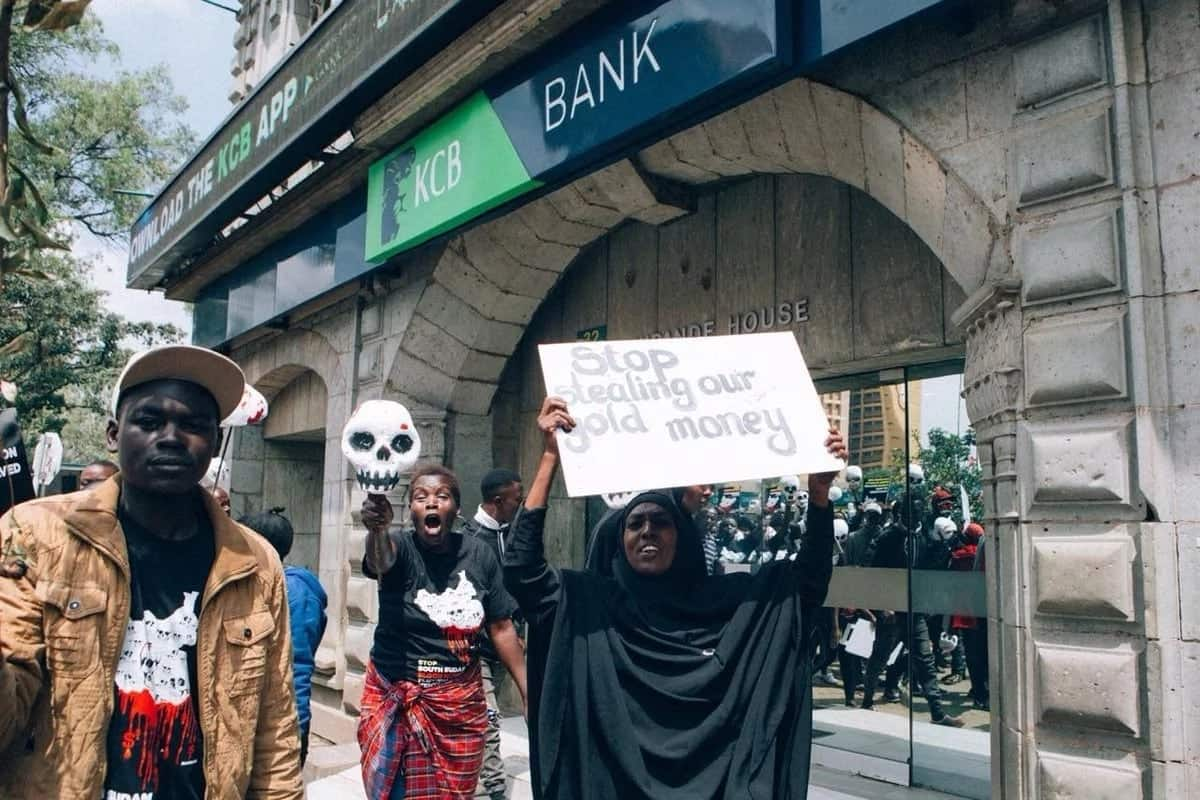 Activists claim KCB, Equity and Stanbic banks among beneficiaries of war in South Sudan