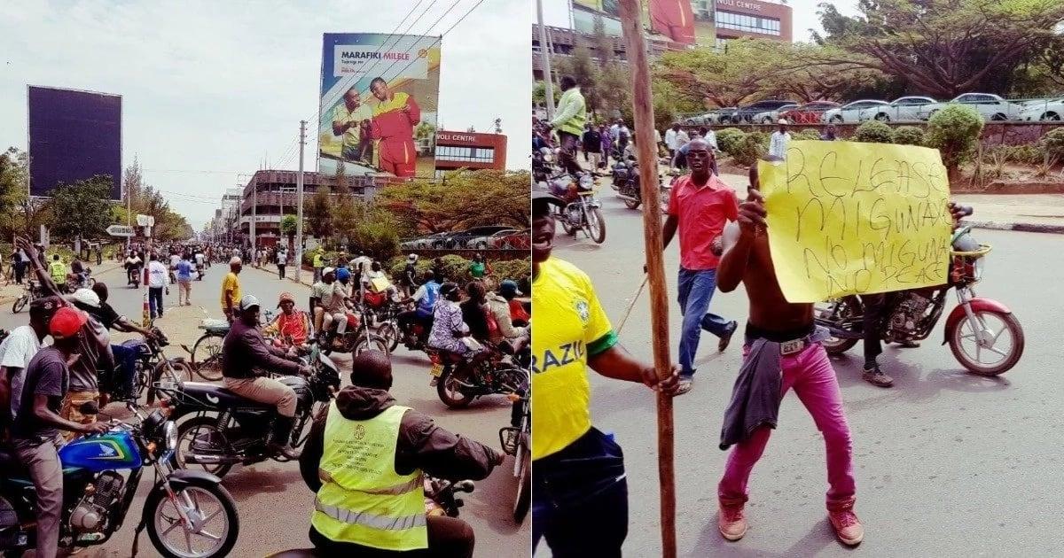 Protests erupt in Miguna Miguna's hometown as confusion mars his arrest and presentation to court