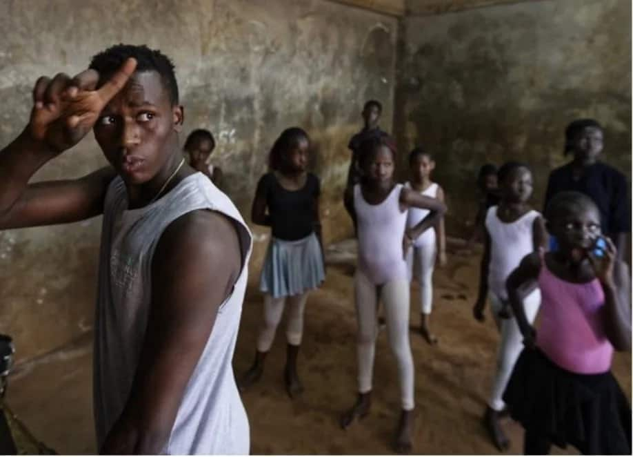 Teen boy came out of Kenyan slum to rise as promising BALLET star (photos)