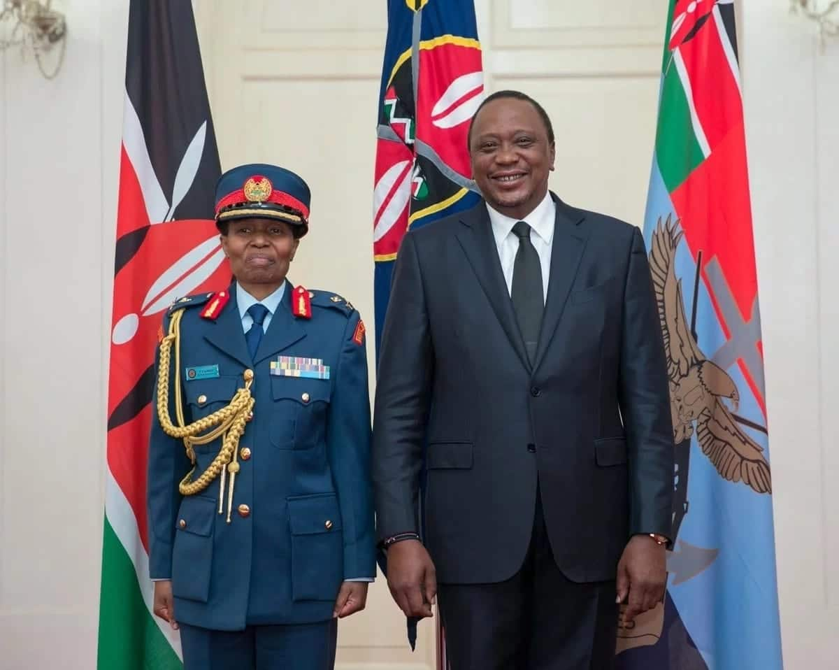 Kenya gets first female Army Major General as Uhuru swears in KDF commanders