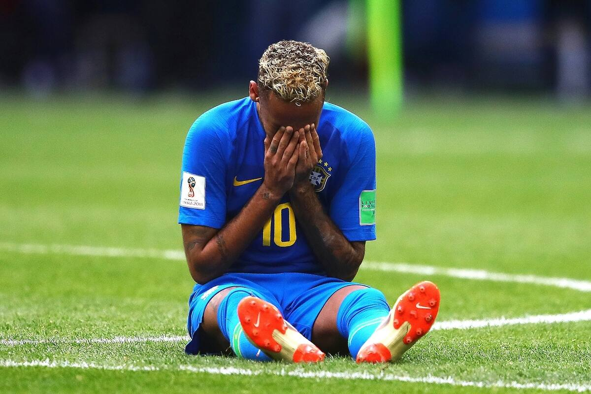 Brasilian superstar Neymar admits to simulation, promises to do better in future