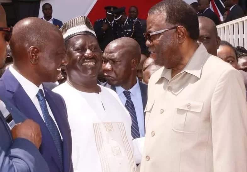 Raila Odinga announces plan to construct 6,000 kilometres road linking Mombasa to Lagos