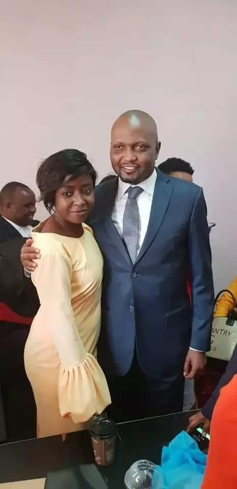 Photos of MP Moses Kuria posing with Jacque Maribe in court stir up emotions online
