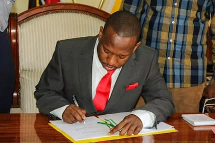 Sonko reshuffles his Cabinet weeks after sudden resignation of his deputy