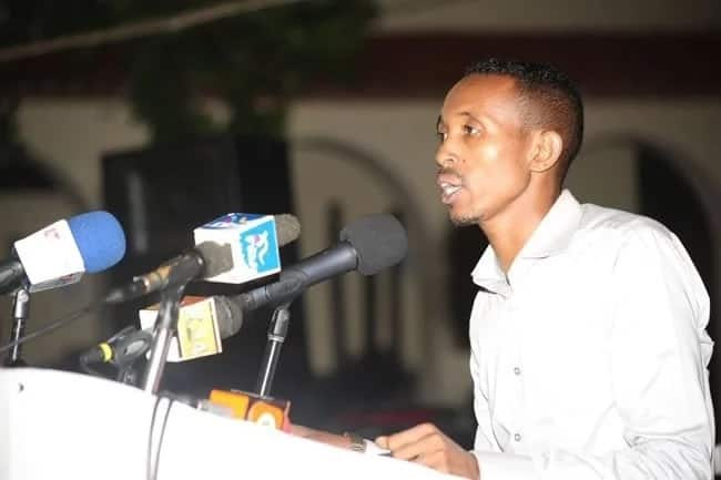 Jicho Pevu's Mohamed Ali responds after he was accused of neglecting aging parents
