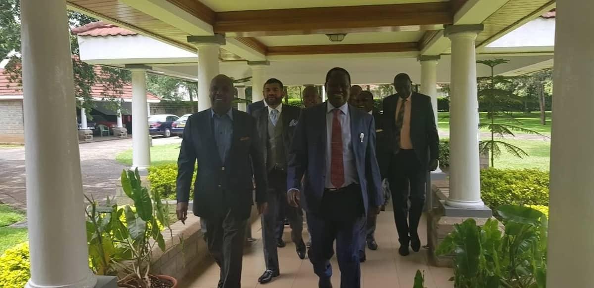 Raila Odinga meets retired president Daniel Moi days after famous handshake with Uhuru