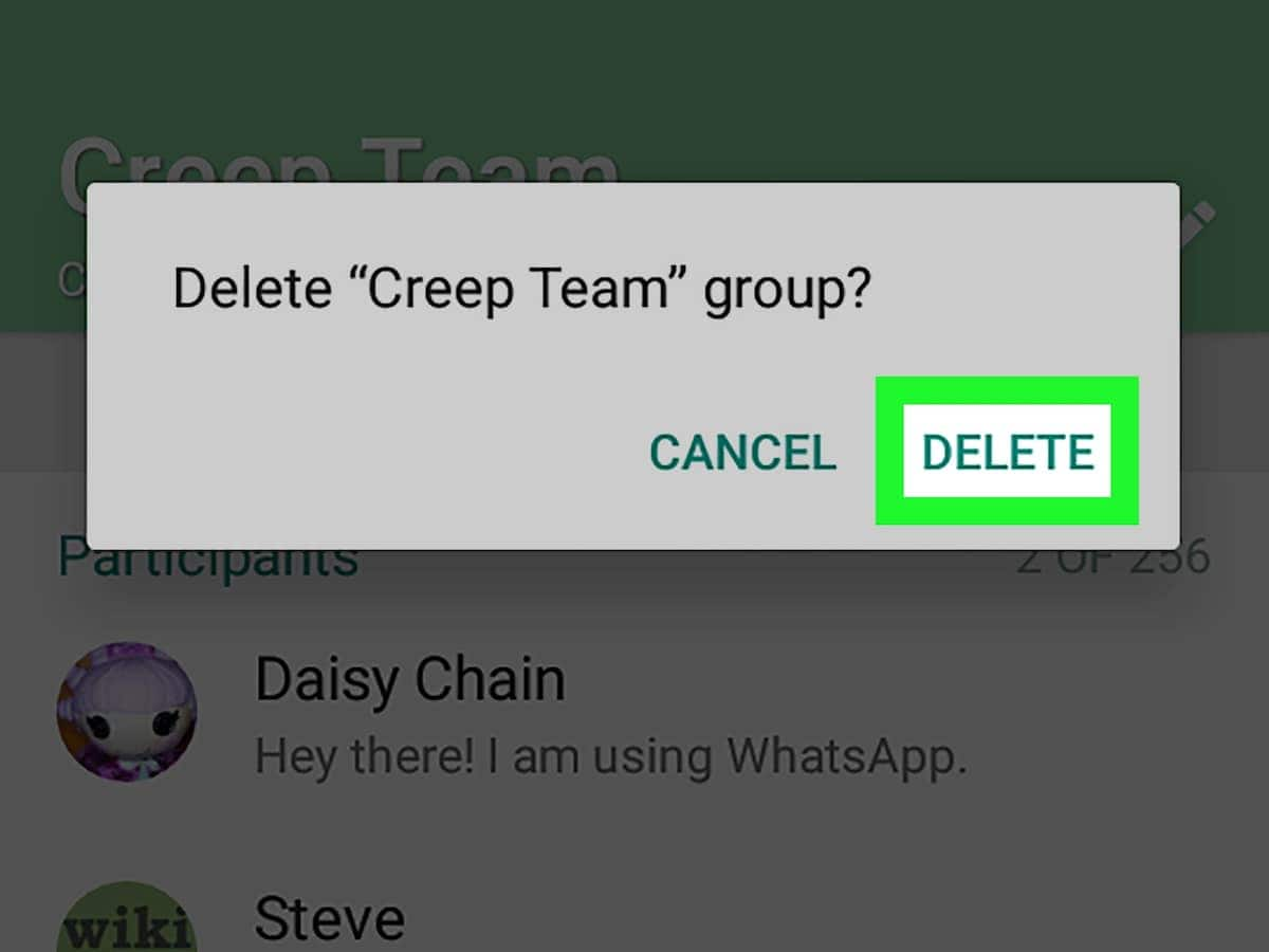 Delete WhatsApp groups completely I can't delete WhatsApp group How to delete WhatsApp group I created