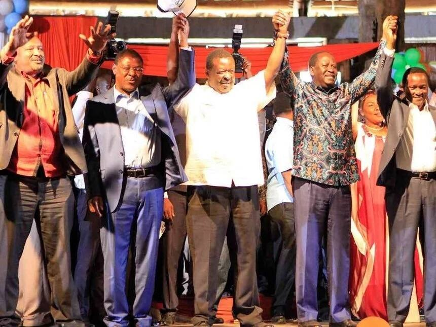 NASA leaders visit Mt. Kenya region and tell make these statements about Uhuru and Kibaki