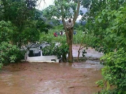 Tana river residents sleep on trees for fear of floodwater