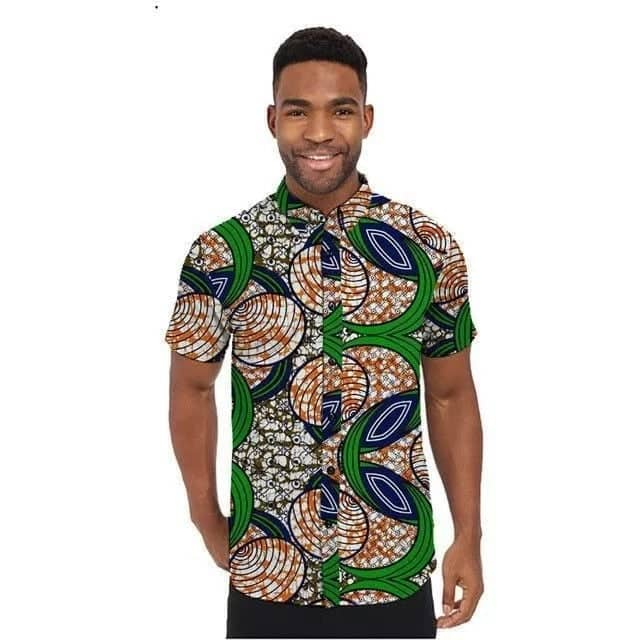 Kitenge shirts for men