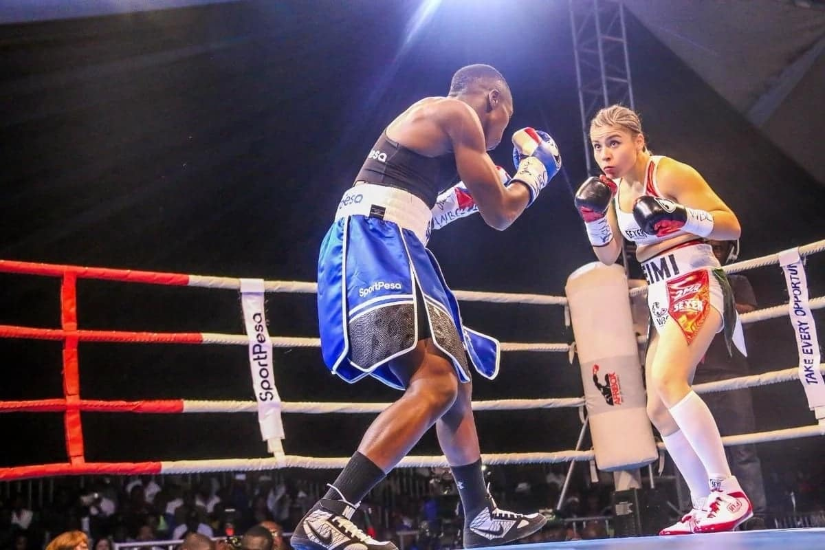 Fatuma 'Iron Fist' Zarika retains WBC title, defeats Yamileth Mercado on points
