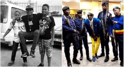 Jose Chameleone facing arrest for allowing under-age sons to drive on their own
