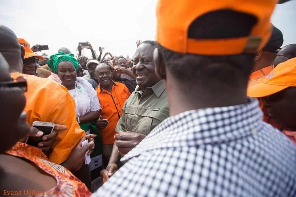 Mwanahabari ajeruhiwa katika mkutano wa Raila Odinga