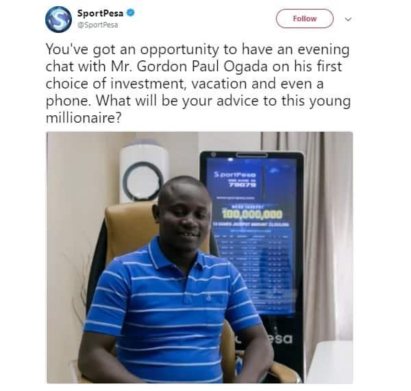 Watu wampa Gordon Ogada ushauri wa kifedha na unafurahisha sana