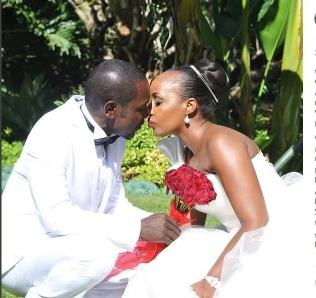 Comedienne Teacher Wanjiku gushes over hubby with heartwarming message as he turns a year older