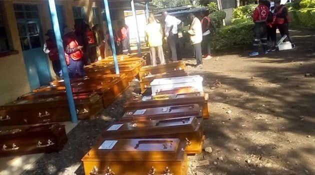 Emotions high as families pick bodies of Solai Dam tragedy victims