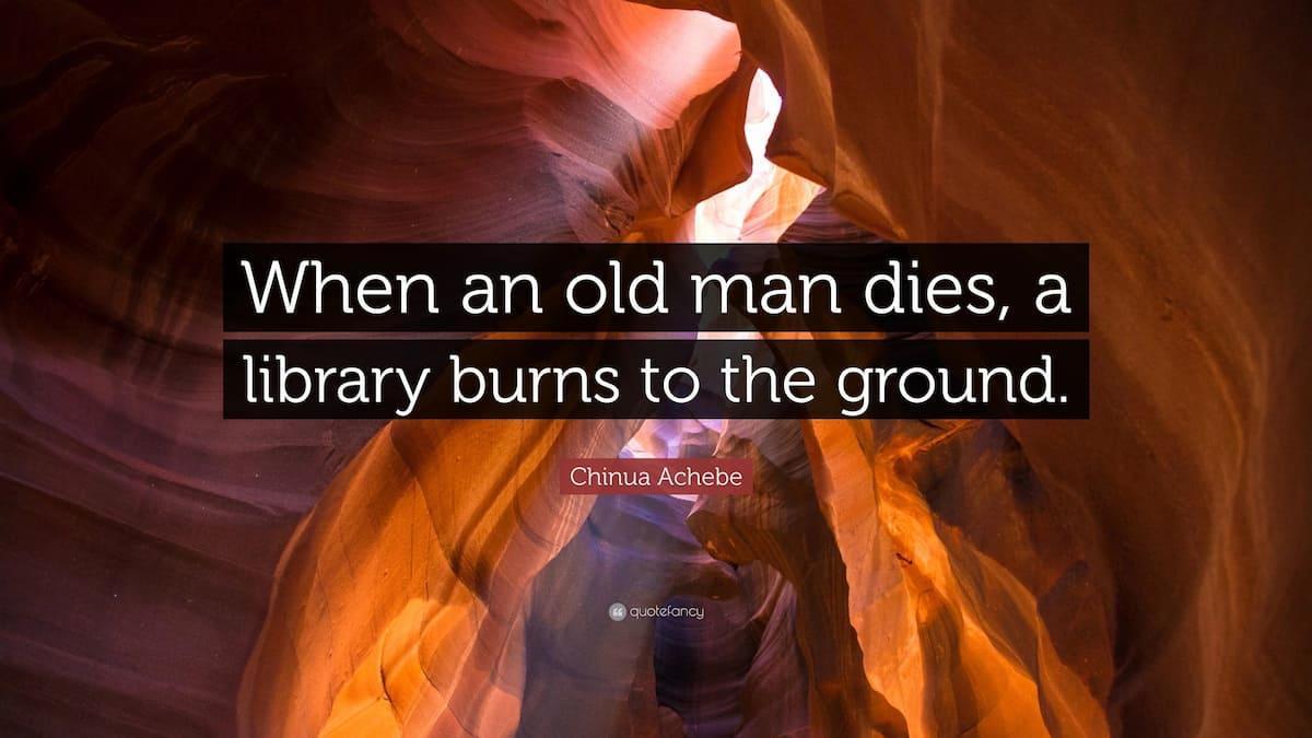 Popular Chinua Achebe quotes