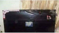 This is what happens when you buy a TV with a VERY GOOD Christmas offer in Githurai(photos)