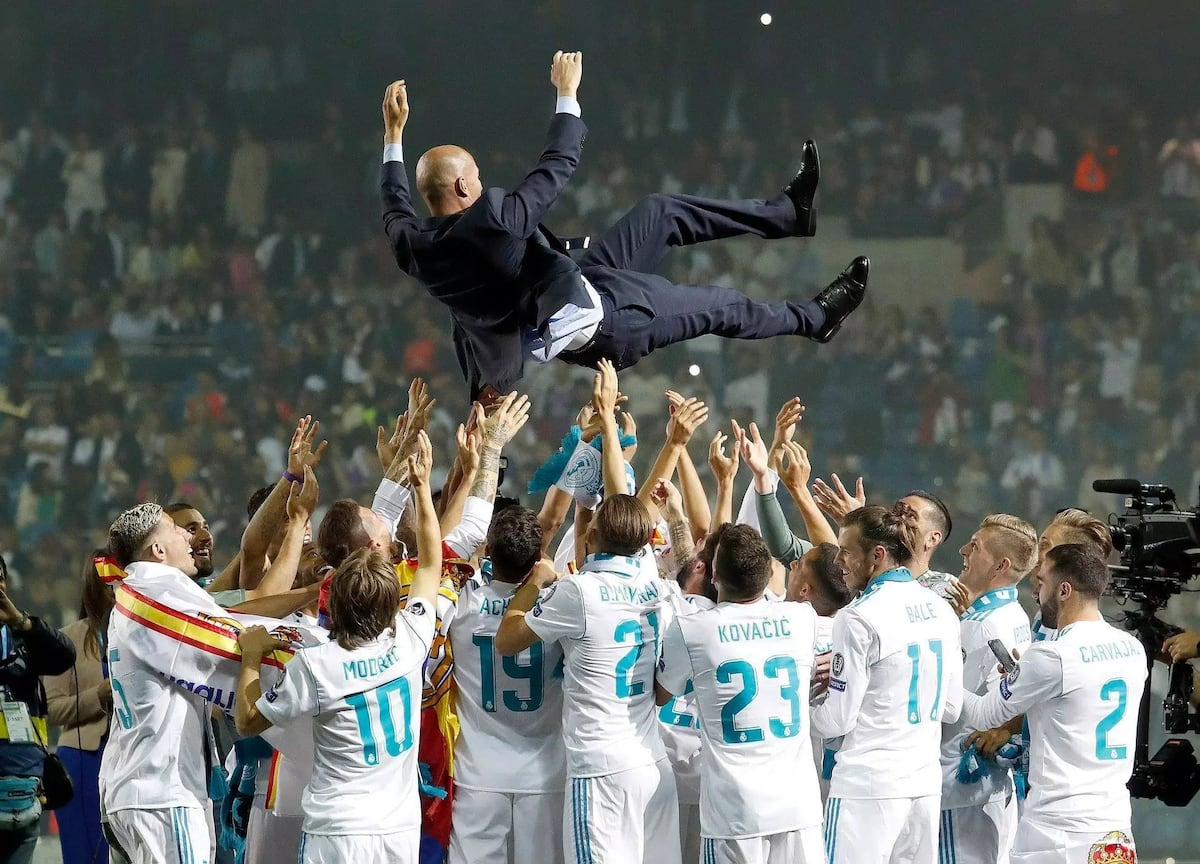 Zinedine Zidane resigns as Real Madrid coach after illustrious career