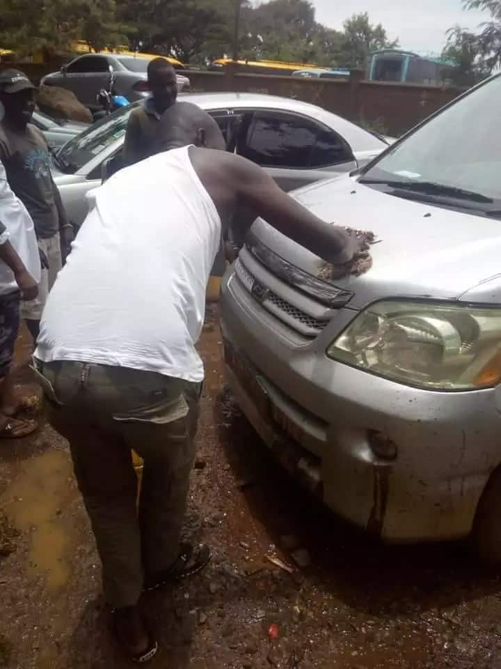 Kisumu Central first time MP excites local by washing peoples cars