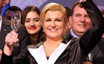 This is how Croatian president Kolinda Grabar-Kitarovic made people love her more