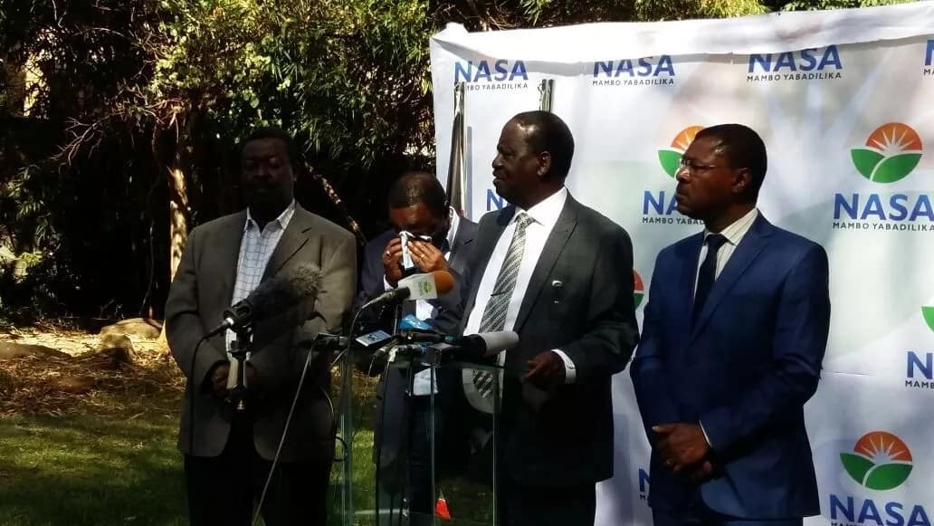Raila swearing-in without Kalonzo Musyoka was a NASA strategy - Principals