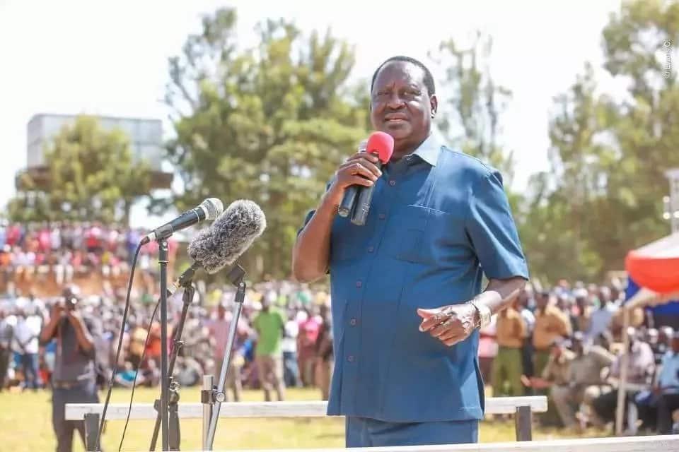 Raila Odinga apokelewa kwa shangwe Murang'a (video)