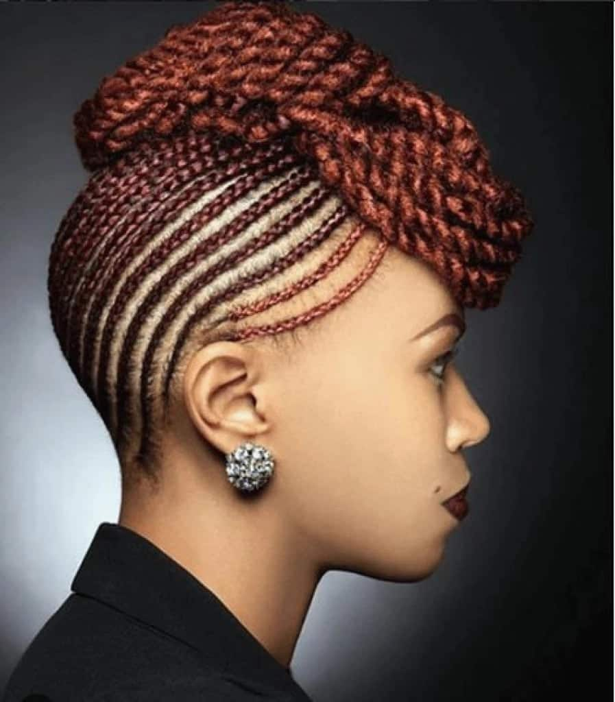 kinky twist hairstyles kinky twist extension hairstyles flat twist updo with extensions