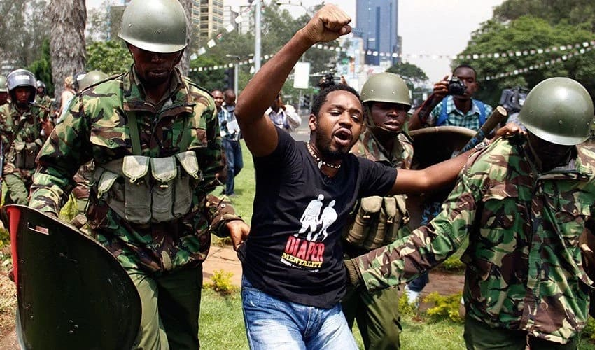 Activist Boniface Mwangi talks about his death
