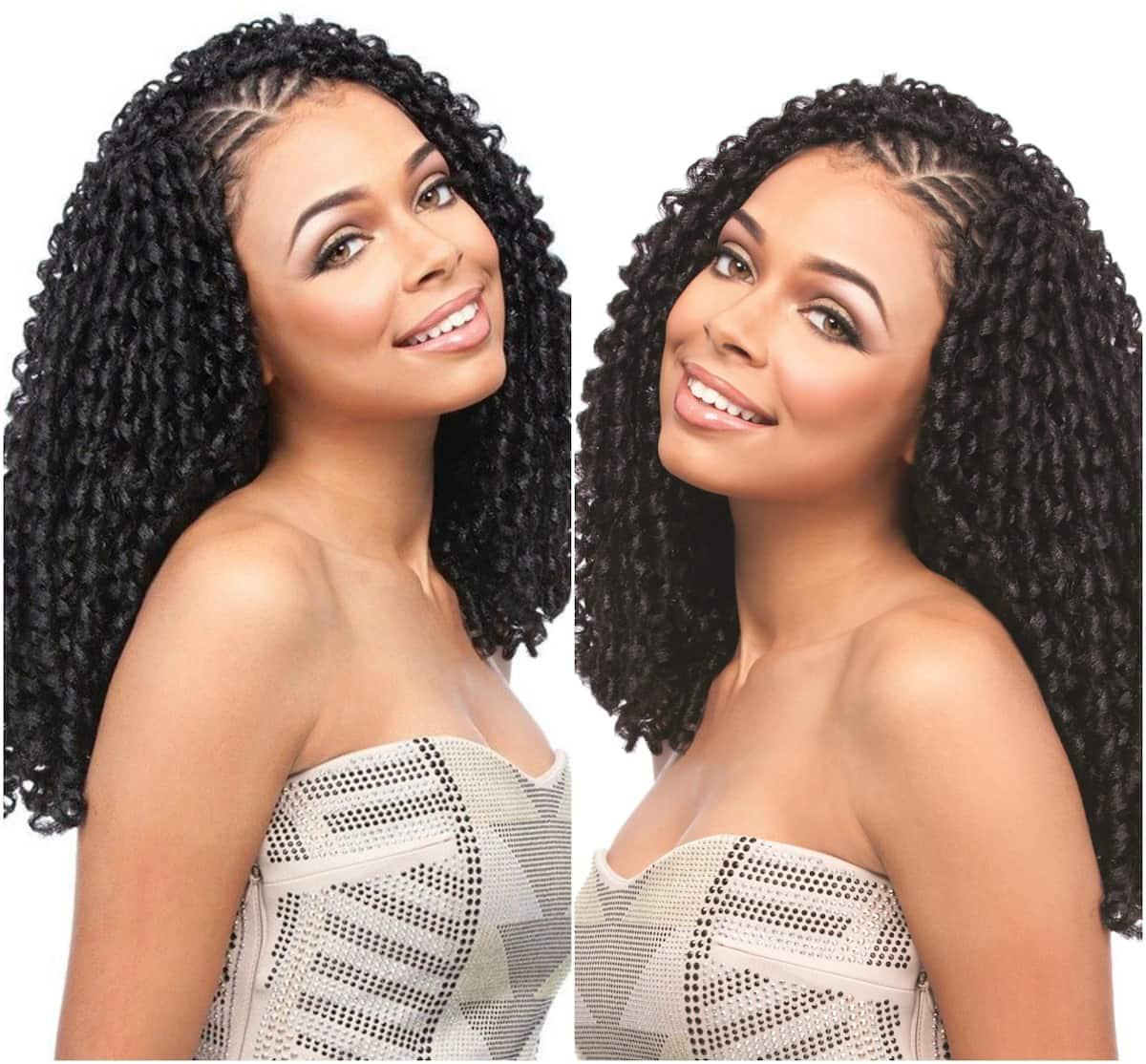 Soft dreadlocks braids Soft dreadlocks hairstyles Soft dreadlocks hair styles