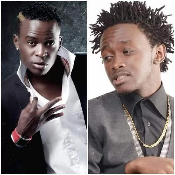 Willy Paul and bahati's separate meetings with secular artistes raise eyebrows