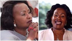 Heartless Kenyan makes fun out of Wavinya Ndeti's message to departed husband